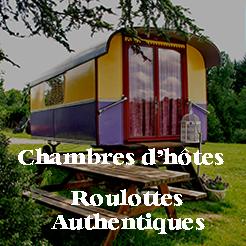 Chambres d'hôtes en roulottes authentiques
